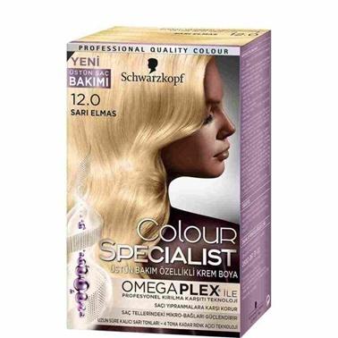 Luxy Bio  12.0 Sarı Elmas Saç Boyası Sarı